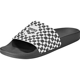 arena Therese Slide Sandals black-white-black